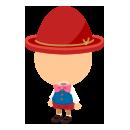 ピノッキオ衣装