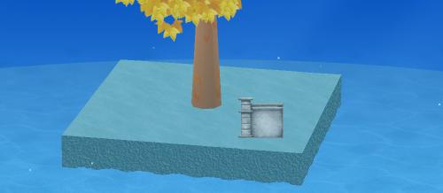 海底遺跡C 設置例