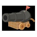 海賊の大砲