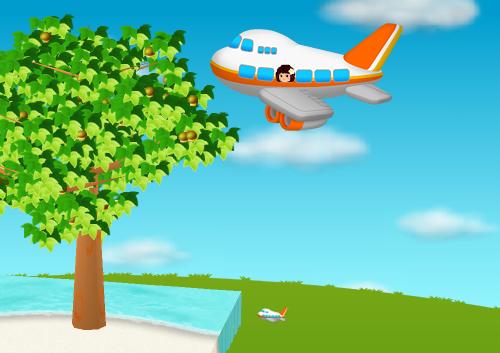 コイコイ飛行機 設置例