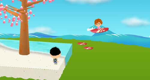 コイコイサーフィン 設置例