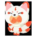 九尾の狐の着ぐるみ