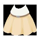 シンプルノースリーブ&スカート