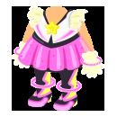 宇宙アイドル衣装 ピンク