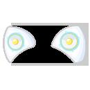 宇宙アイドル耳型スピーカー クリスタル