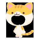 猫の着ぐるみ 茶トラ