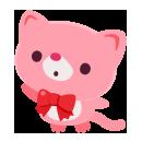 手持ちネコ ピンク