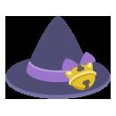 猫ゴースト三角帽子