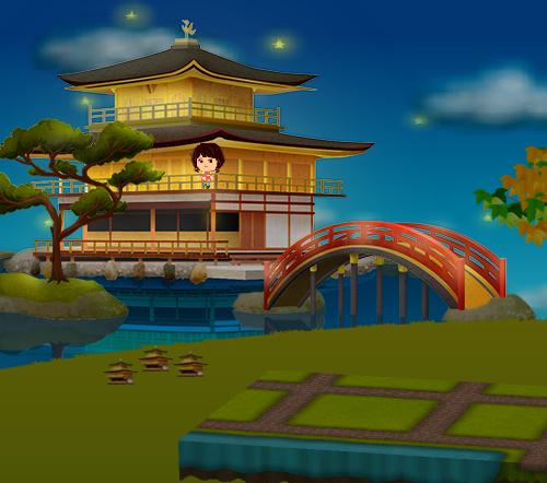 コイコイ金閣寺 設置例(コイコイ金閣寺を3個飾った場合)