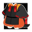 陰陽師衣装 黒