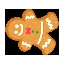 手持ちジンジャークッキー