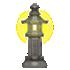 光る石灯籠C