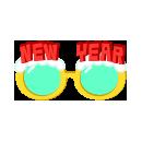 パーティーサングラス NEW YEAR