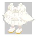 ロリータ衣装 ホワイト