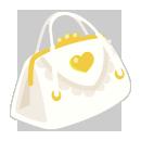 ロリータバッグ ホワイト
