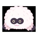 頭のせビッグフット ピンク