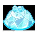 氷塊のドレス