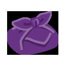 手持ち風呂敷包み 紫