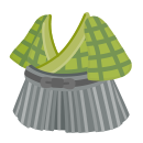 バンカラ袴セット 薄緑