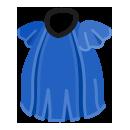 モガワンピース 青
