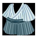 バンカラ袴セット 薄藍